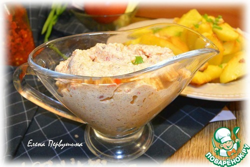 запечь картошку с соусом в духовке рецепт с фото