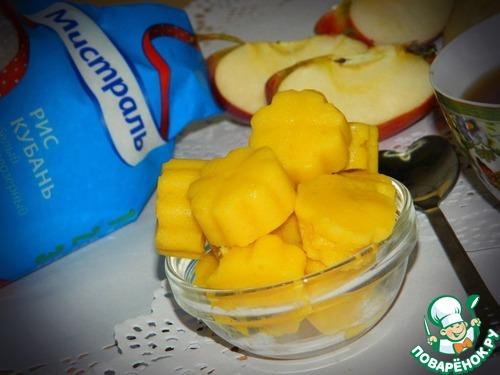 Рисово-яблочные конфеты