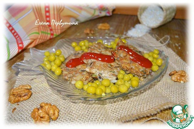 котлеты из риса и консервов рецепты