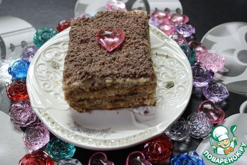 """Самый вкусный торт без выпечки """"Нежность"""""""