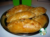 """Пирожки из нежнейшего теста почти """"Кибинай"""" ингредиенты"""