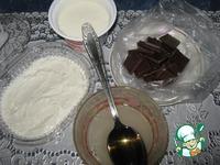 Фруктовый торт с шоколадным кружевом ингредиенты