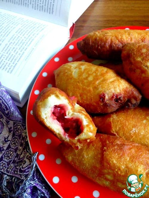 Жареные пирожки с вишней рецепт с фото