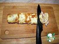 Капустный салат с курицей и яичными блинчиками ингредиенты