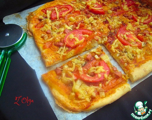 Правильная пицца рецепт фото