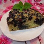 Маковый пирог с иргой