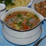 """Овощной суп с сельдереем """"Лёгкость"""""""