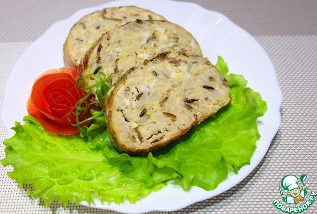 Фаршированная щука с рисом рецепт с фото