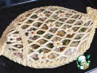 Домашний пирог с салакой и картофелем ингредиенты