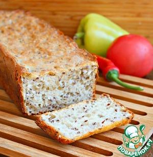Рецепт: Шведский ночной хлеб без замеса