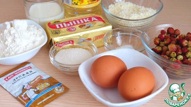 рецепт дрожжевых пирожков в духовке с творогом