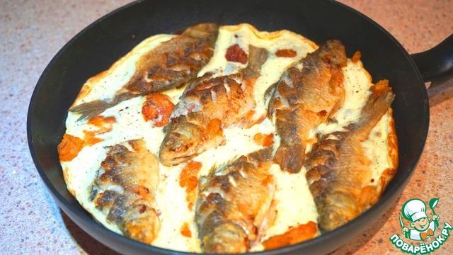 Рыба в сметане рецепт пошагово