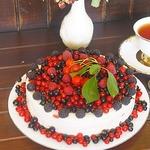 Торт без выпечки Ягодный фейерверк