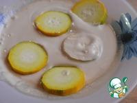 Кабачки в полезной панировке ингредиенты