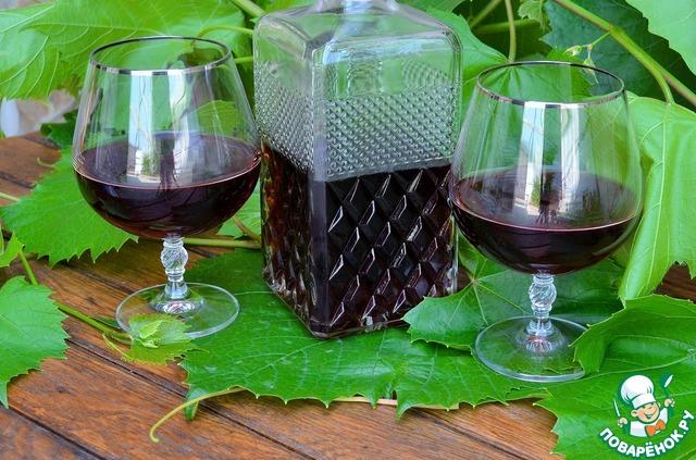 Как из винограда сделать настойку из 221