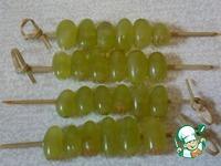 Виноградный десерт в хрустящей посыпке ингредиенты