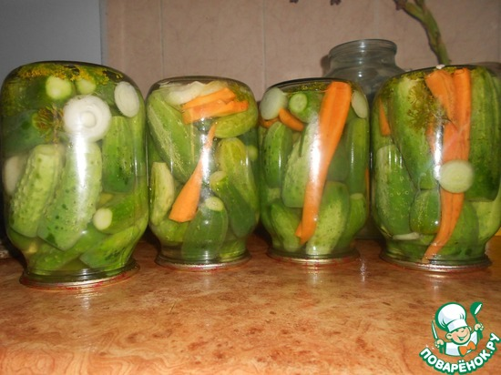 Рецепт болгарских огурцов на зиму с фото
