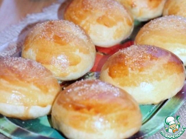 Рецепт булочек с сливках