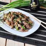 Свинина с зеленым луком по-китайски