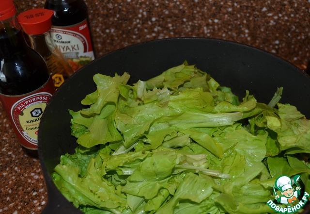 рецепт салата жареные грибы крабовые палочки