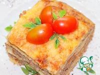 """Блинная лазанья """"Русский привет Италии"""" ингредиенты"""