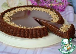 """Рецепт: Шоколадный торт """"Джандуйя"""""""