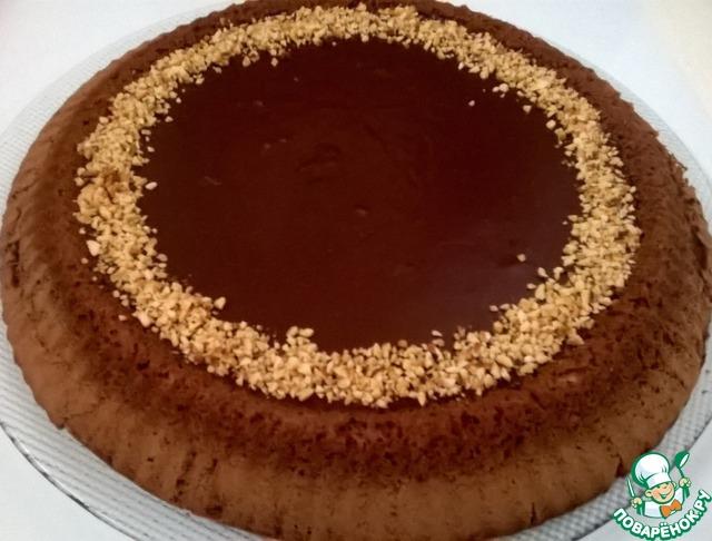 шоколадный торт джандуйя кулинарный рецепт