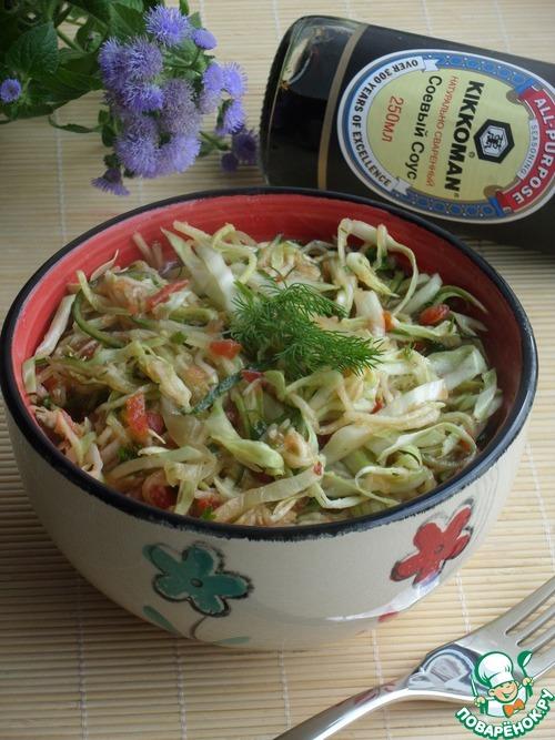 Очень быстрый салат рецепт с