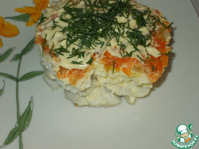 Рыжий салат рецепт