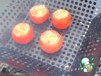 Фаршированные помидоры-гриль ингредиенты