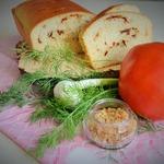 Хлеб сметанный с начинкой