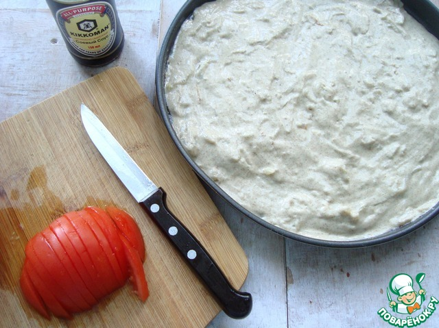 Рецепт лепешка с жареным луком