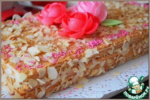 Рецепт десерта из вафельных коржей