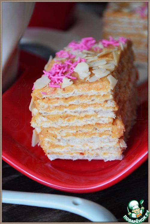 Крем на торт для вафельных коржей