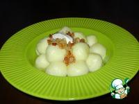 """Картофельно-творожные шарики """"Шелковые"""" ингредиенты"""