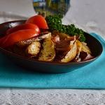 Картофель по-баварски на гриле