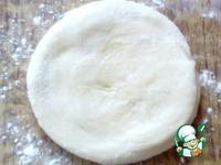 Слоёные лепёшки из пельменного теста ингредиенты