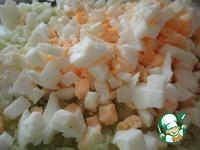 Пирог ленивый с молодой капустой и яйцами ингредиенты