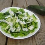Салат из стручковой фасоли и цуккини
