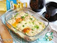 Восхительные блины с яичницей на завтрак ингредиенты