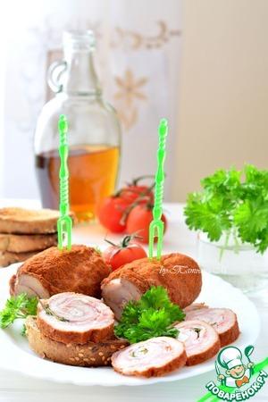 Мясные и корбанатовые закуски фото