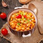Рис с овощами в соусе