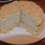 "Торт ""Сметанник"" на сковороде"