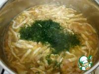 Суп с пшеном и яичным омлетом ингредиенты