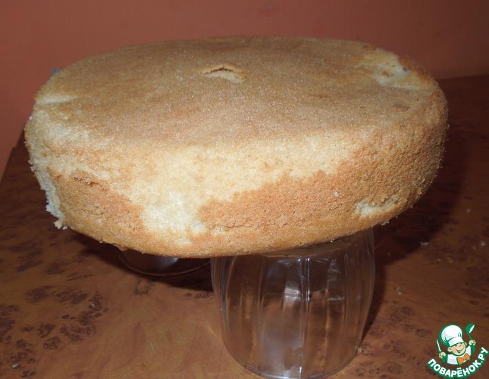 Рецепт: Ванильный шифоновый бисквит