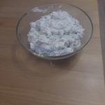 Салат из сузьмы, айрана и куртапа