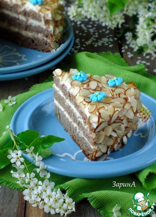 Черемуховый торт пошаговый рецепт
