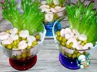 """Салат """"Дары моря"""" ингредиенты"""