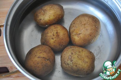как вкусно сварить картошку в мундире