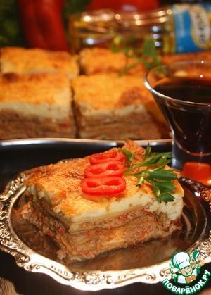 Рецепт: Лазанья по-русски